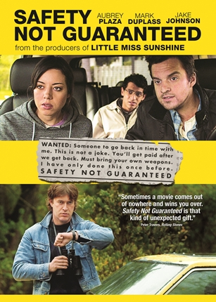 Safety Not Guaranteed DVD Sleeve.indd